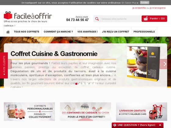 www.facileaoffrir.com